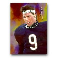Jim Mcmahon #5 Sketch Card Limited 4/50 Edward Vela Signed