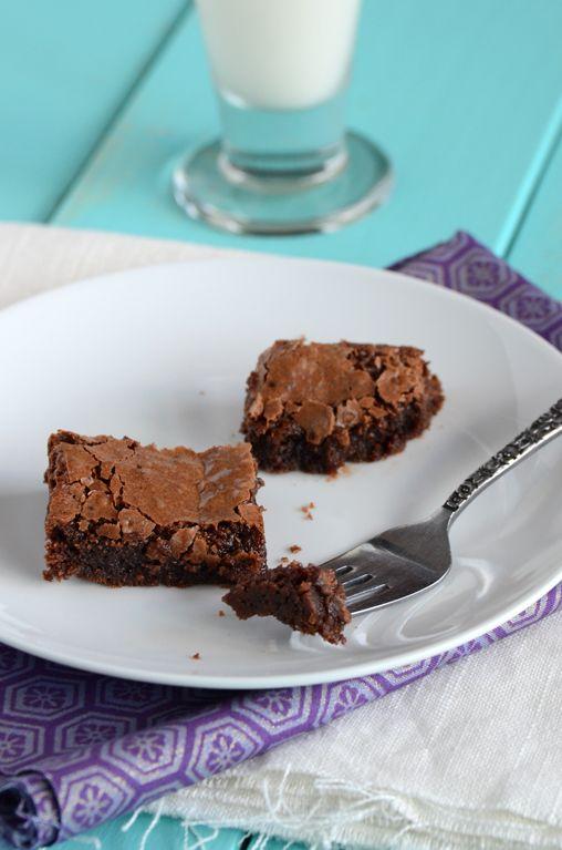 An Edible Mosaic » Fudgy Brownies, Chocolate Raspberry Fool, & A Book ...