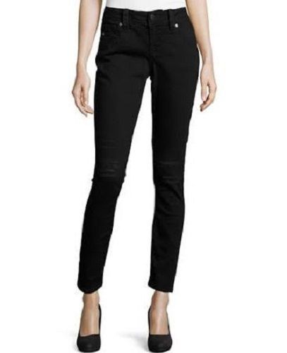 Miss Me Size 34 (17/18) Destroyed Skinny Black Jeans JY5151S332 NWT #MissMe #SlimSkinny