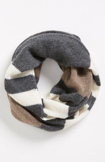 infinity scarf in neutrals