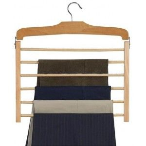 The Ultimate Wooden Pants Hanger