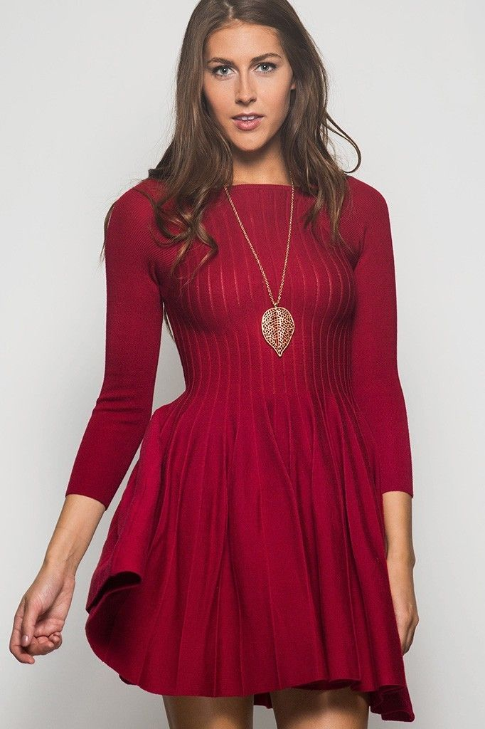 Holiday Dresses with Cutouts