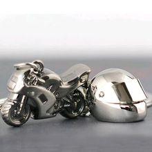 Classique 3D modèle de simulation de moto Moto Casque charmes création alliage porte-clés porte-clés de voiture porte-clés cadeaux(China (Mainland))