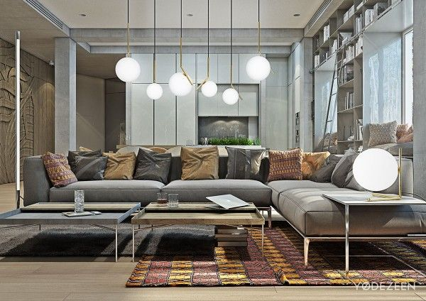 A Kids Friendly Apartment Design With Lots Of Playful Features/ Kamran Yasnafar
