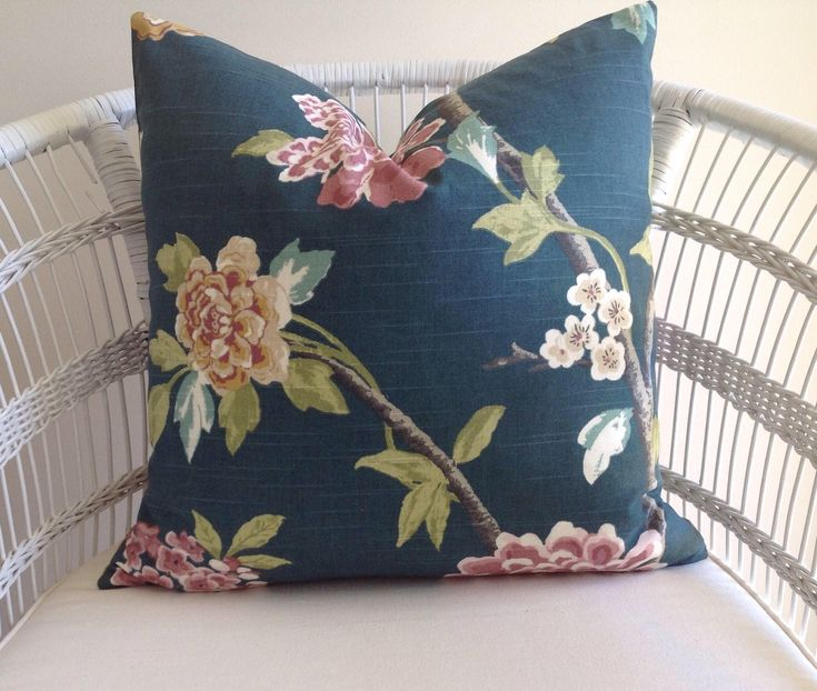 A personal favourite from my Etsy shop https://www.etsy.com/au/listing/572275322/floral-jade-cushion-cover