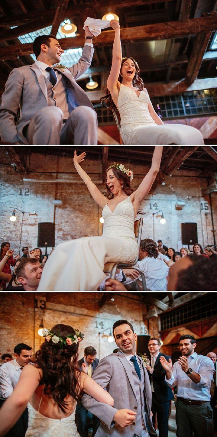 A Boho Bride For Rustic Beer Garden Jewish Wedding At Houston Hall New York City USA