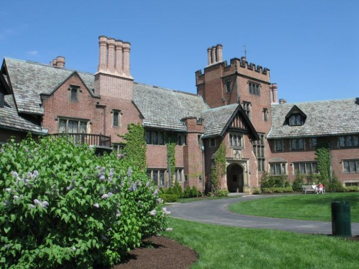 It is one of the top 10 largest country estate homes in America. Stan Hywet in Akron, Ohio. I love this mansion!