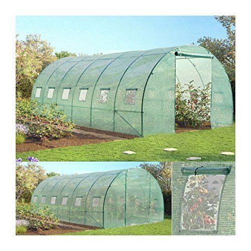Probache - Grande serre de jardin tunnel 7 arceaux Pro galvanise 18m² 6x3x2m: Cet article Probache - Grande serre de jardin tunnel 7…