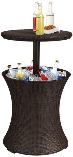 Keter Rattan Cool Bar - [HOME & GARDEN]
