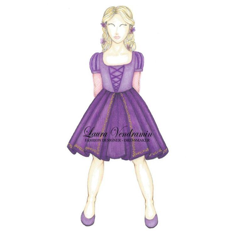 Princess Disney remake for children Rapunzel