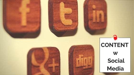 Content w social media
