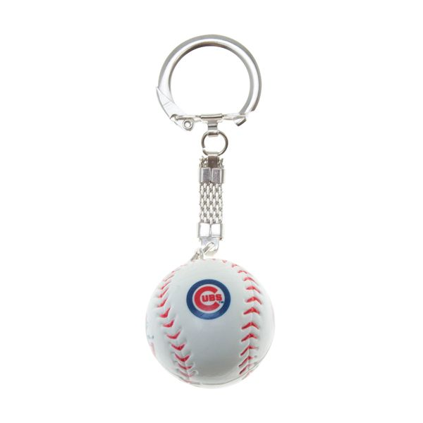 Chicago Cubs Image Ball Keychain  #ChicagoCubs #Cubs #FlyTheW #MLB #ThatsCub
