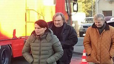 "tournage film france 3 gerard depardieu à Sète, television ""capitaine marleau"""