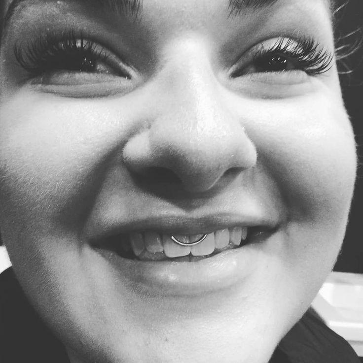 smiley-piercing #piercings