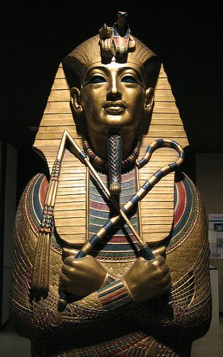 i pin this because, well he is king tut, one of the well known king in Egypt, a…