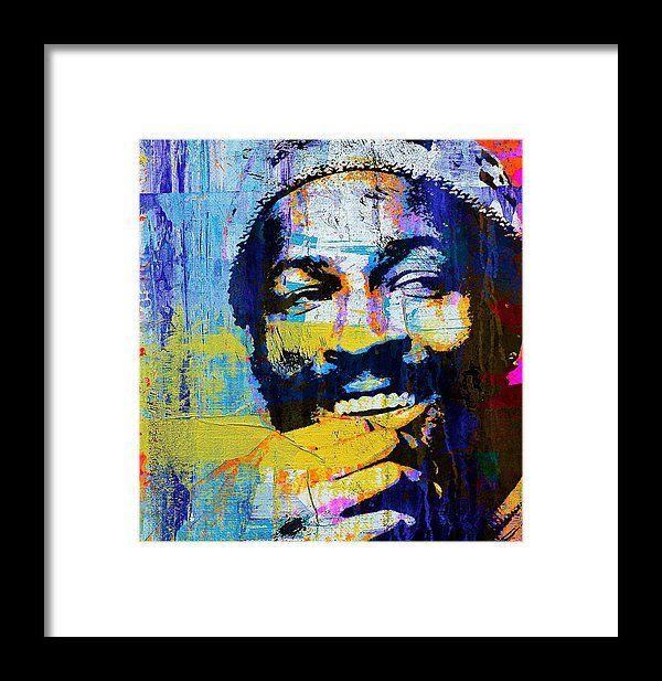 Marvin Gaye Framed Print Featuring The Painting Marvin Gaye By Otis Porritt Art Artwork Art Prints
