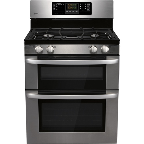 Gas Ranges >> Double free-standing oven | Kitchen and bar | Pinterest | Double oven gas range, Oven and Ranges