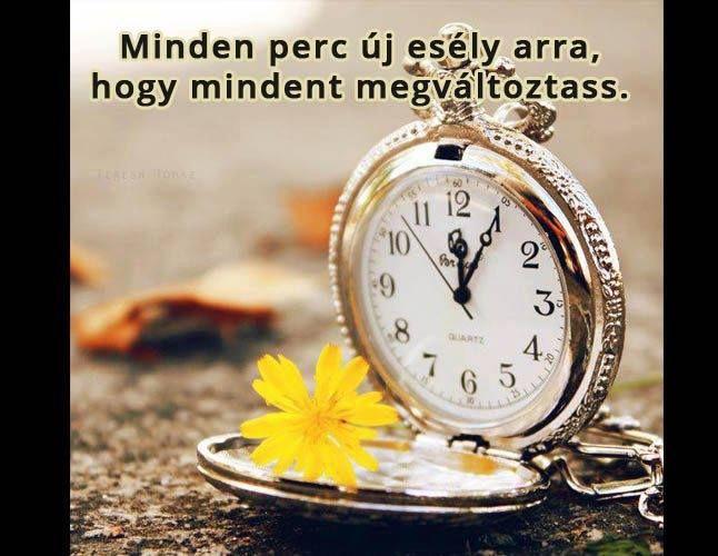 Minden perc egy új esély