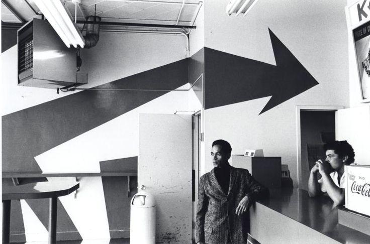 Wrong Way Arrow, Cony Island, N.Y., 1968