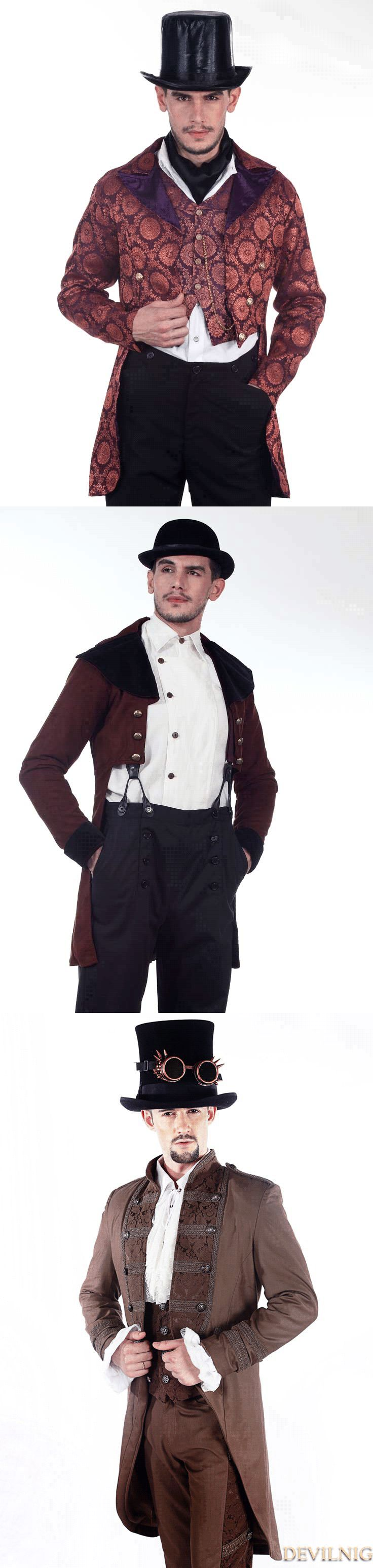 best 25 steampunk mens clothing ideas on pinterest