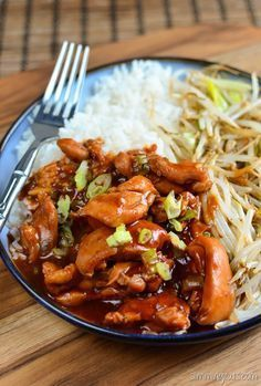 Slimming Eats Hoisin Chicken - dairy free, Slimming World (SP) and Weight…