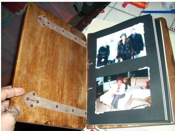 """Book with wooden cover """"Event"""" (E001) Carte cu coperti de lemn """"Eveniment"""" (E001)  More photos: cheilenereinfo.ro/discussion/376/carte-cu-coperti-de-lemn-model-eveniment-e001"""