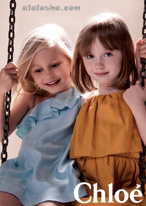ALALOSHA: VOGUE ENFANTS: CHLOE KIDS SS2014 children Ad Campaign