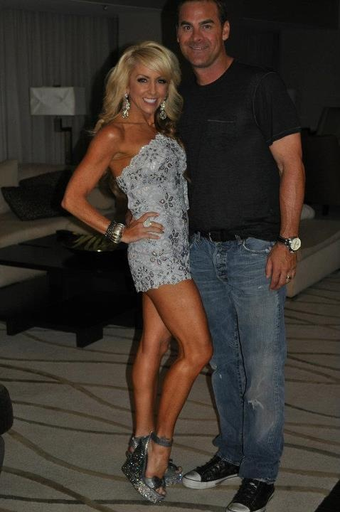 Chalene Johnson w/husband Bret