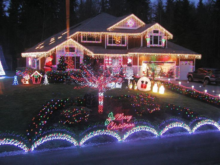 Outdoor Christmas Lights 3 Christmas Decorations Pinterest Beautiful, Outdoor christmas ...