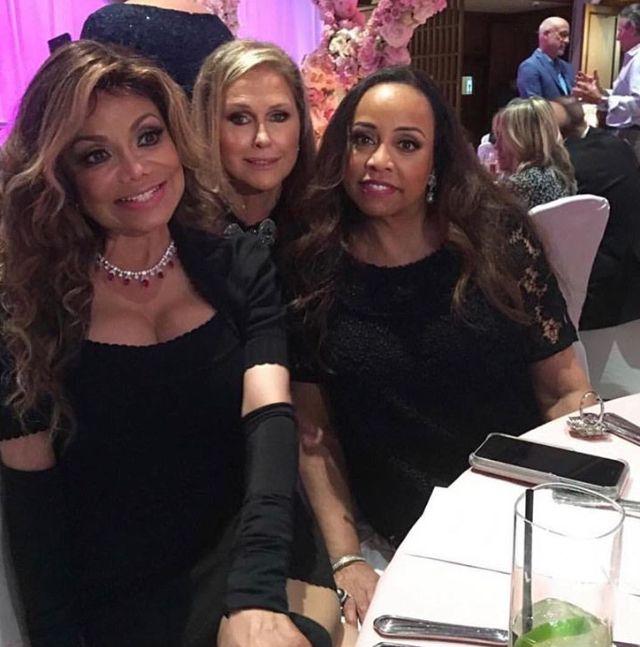 LaToya Jackson, Kathy Hilton & Brenda Richie