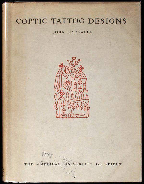 coptic tattoo designs carswell | 1056: Coptic Tattoo Designs : Lot 1056