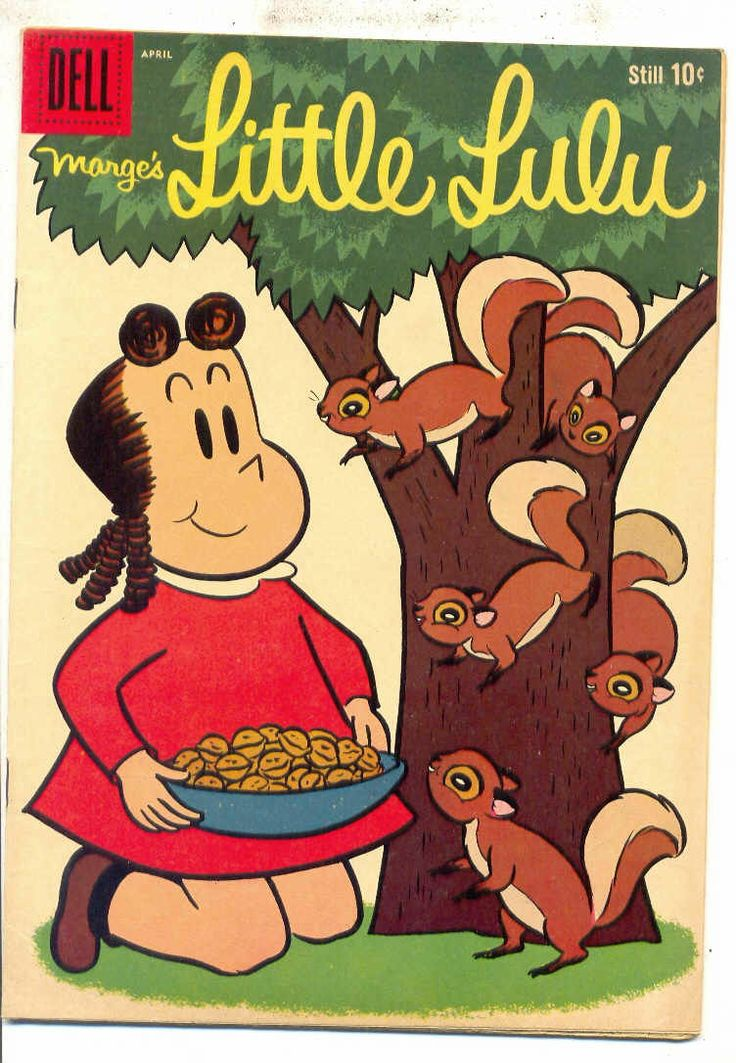 "Comic book LITTLE LULU. ""Little Lulu, I love you-lu just the same.""  I even had a subscription to this comic book!!"