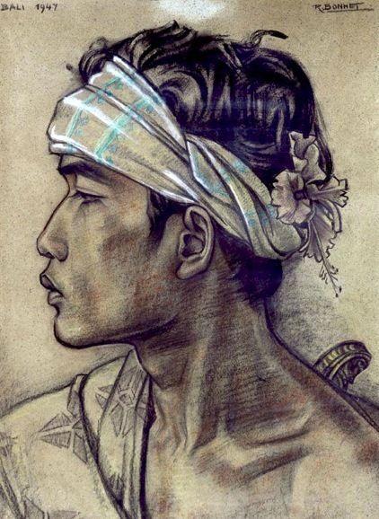 Rudolf Bonnet - Bali 1947