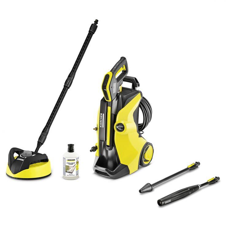 A készülék ideális enyhe szennyeződések rendszeres tisztításához az egész házban! https://www.kaercher.com/hu/haz-es-kert/magasnyomasu-mosok/k-5-full-control-home-13245030.html