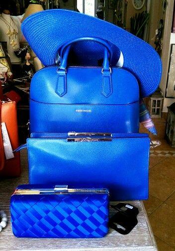something Blue by Coccinelle   Spring Summer '15 κατάστημα mánia, Πυλαρινού 37, Κόρινθος https://www.facebook.com/mania.korinthos #mániashop #Korinthos #Coccinelle #blue #ss15 #shopping #fashionisagame #accessories