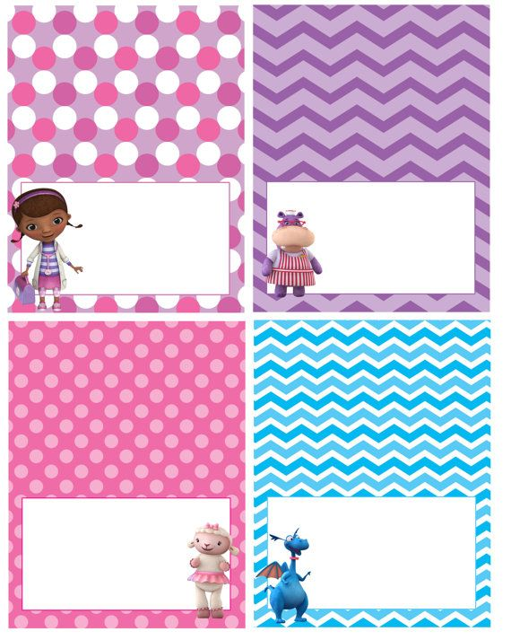 Hey, I found this really awesome Etsy listing at https://www.etsy.com/listing/259246039/doc-mcstuffins-food-tentslabels-digital