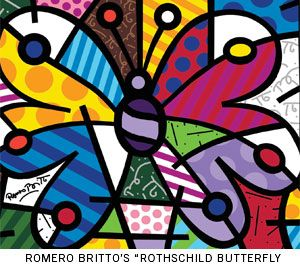 Britto....butterfly!