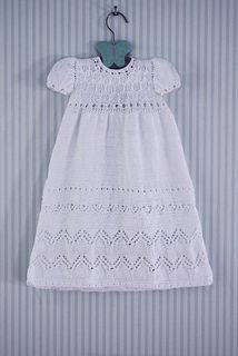 Free Knitting Pattern Baby Christening Gown : 64 best images about Knitted christening gowns on Pinterest Knitting patter...