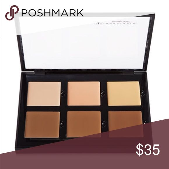 Anastasia Concealer Contour Palette Anastasia Concealer Contour Palette. Swatched in two of the sox squares. Like new besides minimal swatch. Plastic sticker still on cover. Anastasia Beverly Hills Makeup