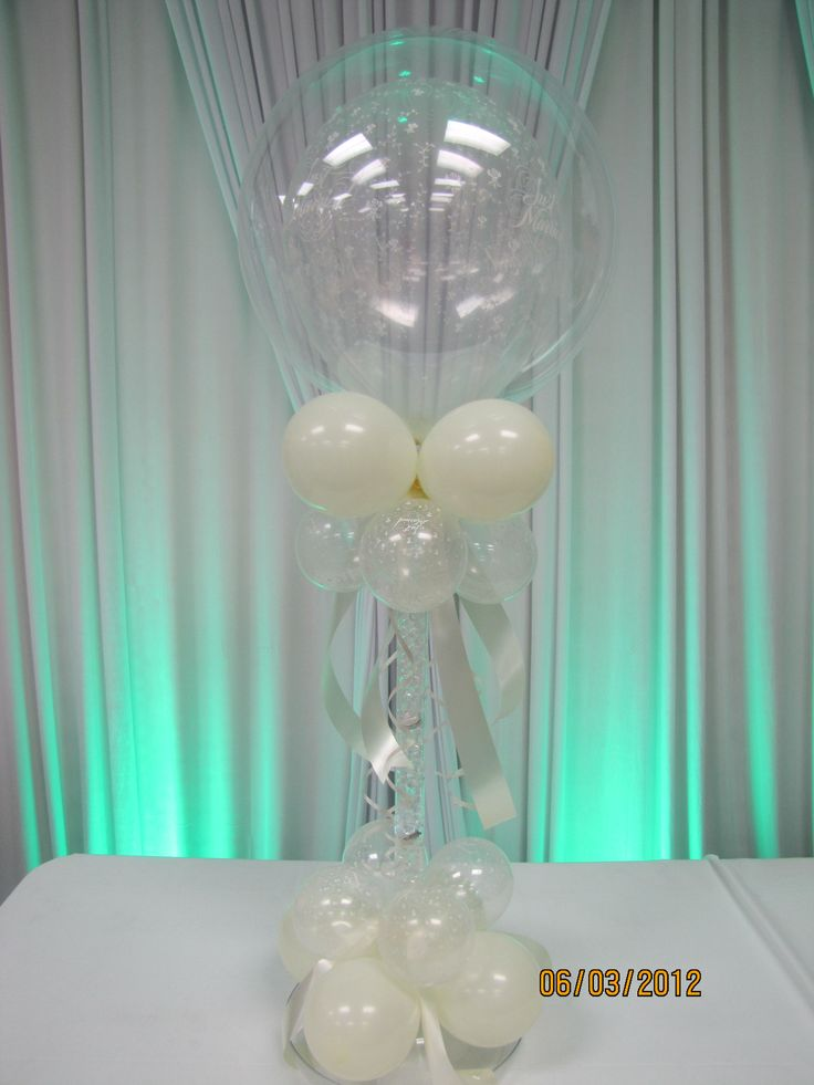 Best wedding decor images on pinterest balloon