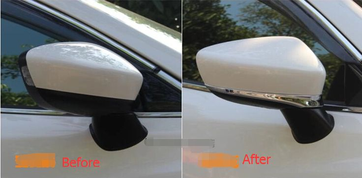 Chrome Side Rearview Mirrors Cover Trim 2 pcs For Mazda 6 Atenza sedan 2014 High Quality #Affiliate