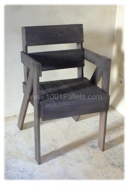17 best images about bench chair on pinterest furniture pallet chair and - Chaise en bois de palette ...