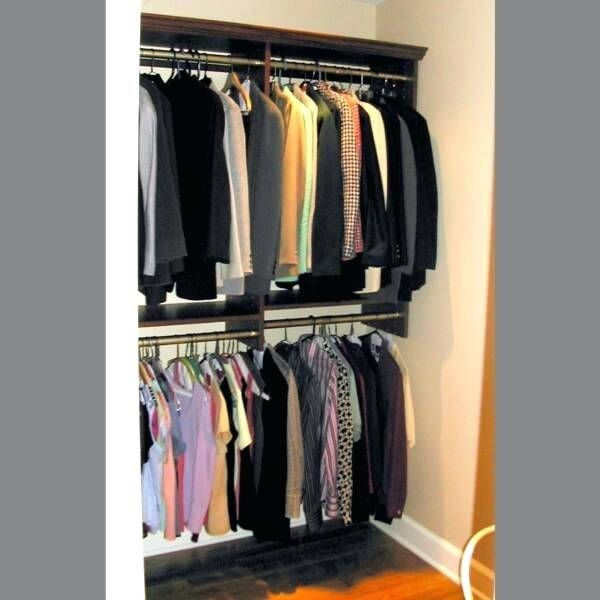 double rod closet ideas amazing check