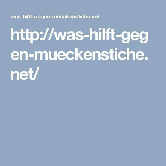 http://was-hilft-gegen-mueckenstiche.net/