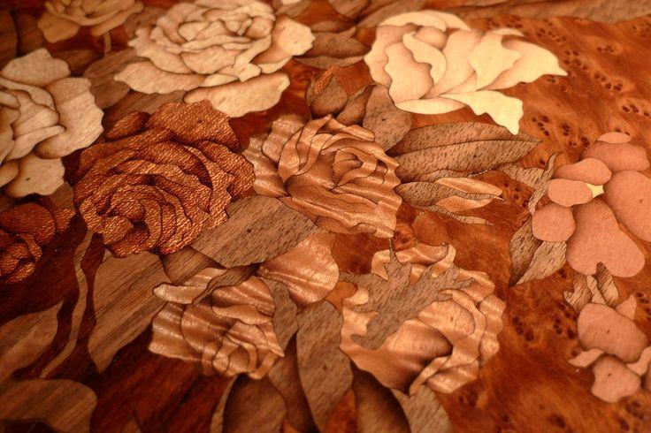 #intarsio #legno #Zouganista di @lunapienabytaka http://omaventiquaranta.blogspot.it/2014/07/takafumi-mochizuki_31.html