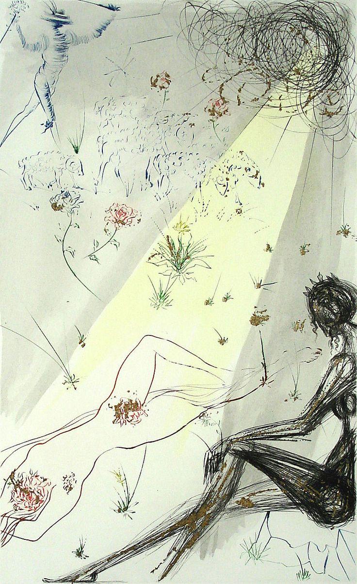 161 best Drawings: Salvador Dali images on Pinterest   Salvador dali ...