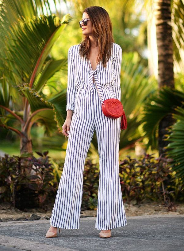 striped-jumpsuit-street-style-gucci-bag-scarpin