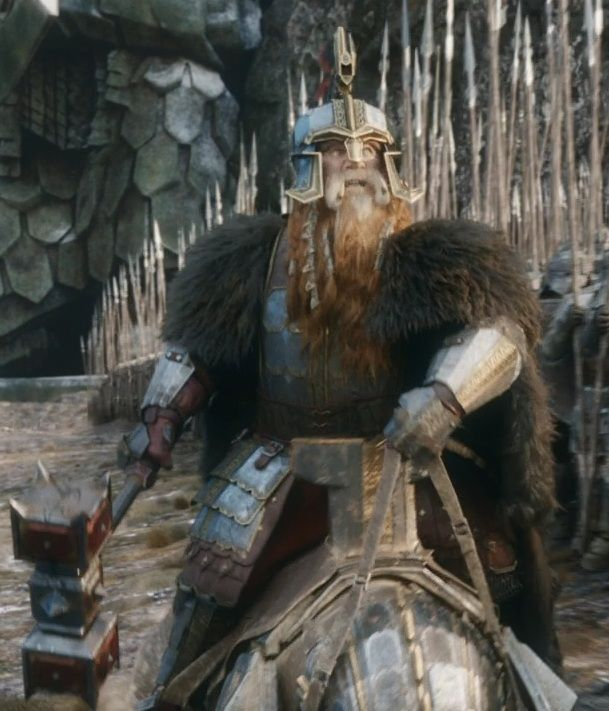 dain ii ironfoot  to battle  to battle sons of durin