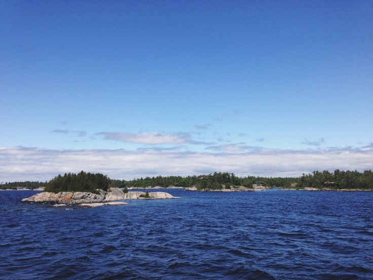 Our view aboard the Island Queen Cruise in Parry Sound, Ontario! | SoFawned.com