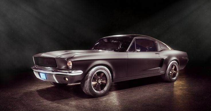 ford mustang - maxwell render